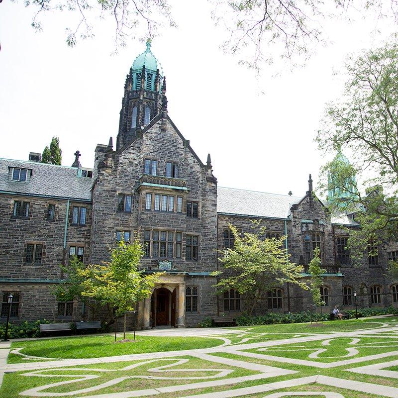 exterior of Trinity College