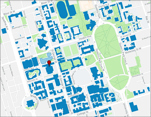 Map to Sidney Smith Hall