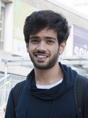 Student photo Abdullah Chandna
