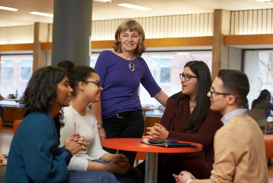 June Larkin of the Women & Gender Studides Institute.
