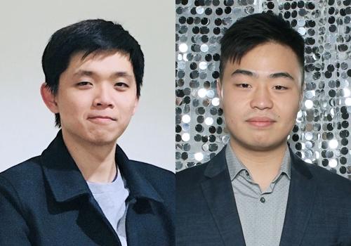 Headshot of Eric and Hao