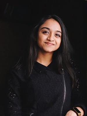 Portrait of student Evani Patel
