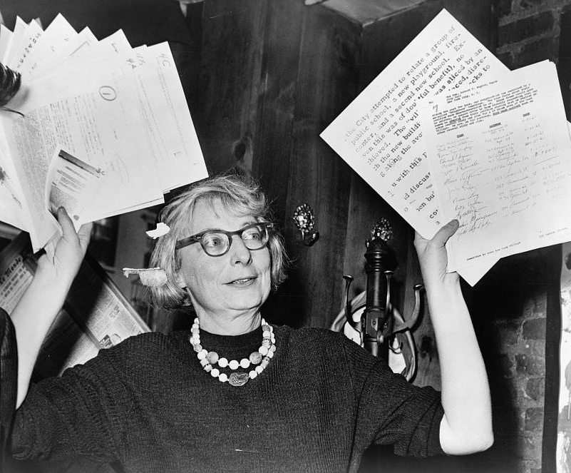 Urban studies writer and activist Jane Jacobs lived and worked in Toronto for 35 years, from 1968 until her death in 2006. Photo:Phil Stanziola, New York World-Telegram and the Sun Newspaper Photograph Collection, Library of Congress.