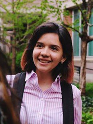 Portrait of student Karol Andrade Bohorquez