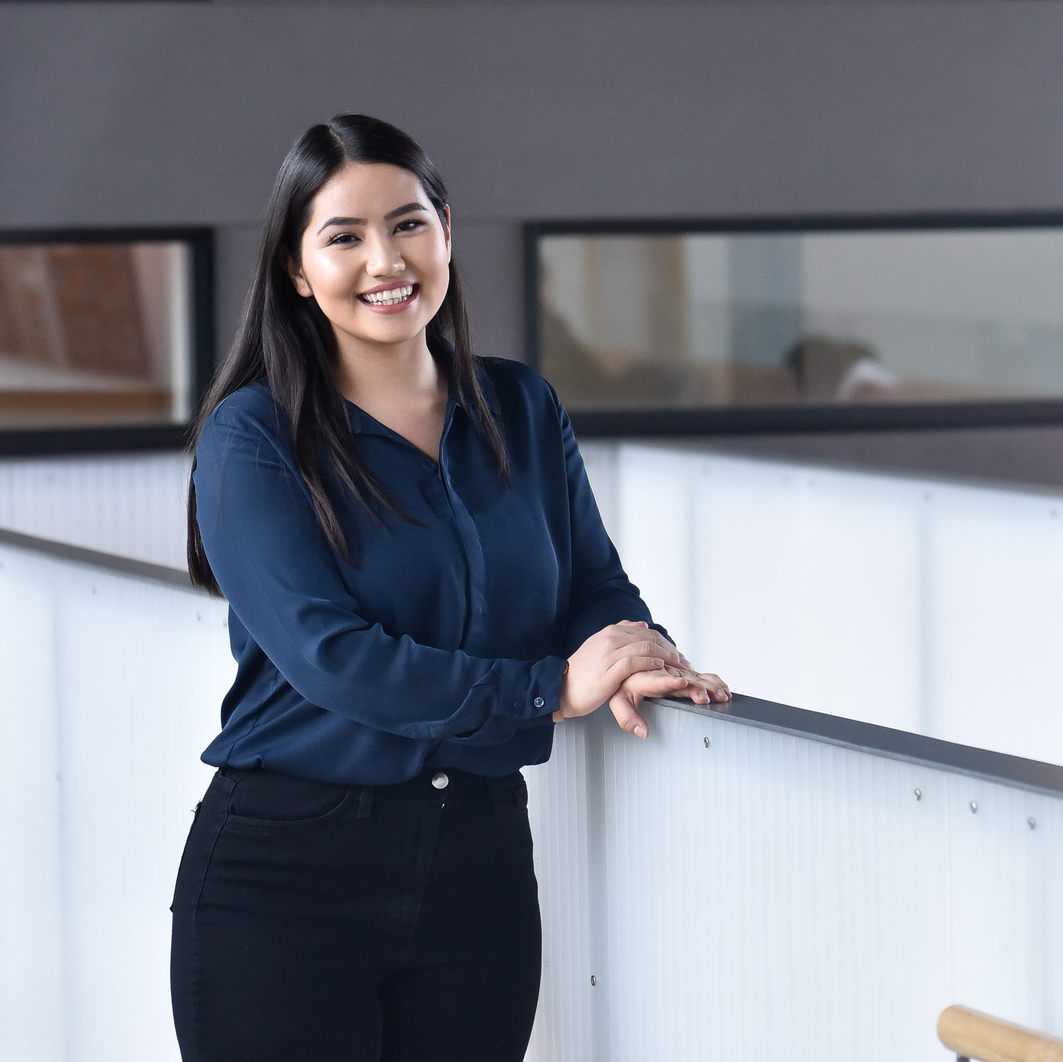U of T student on her internship at city council
