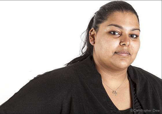 Portrait of student Alia Mohammed