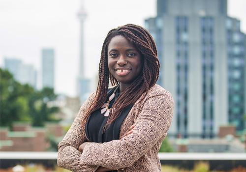 Portrait of Anowa Quarcoo.