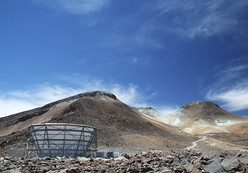 Atacama Cosmology Telescope in northern Chile.