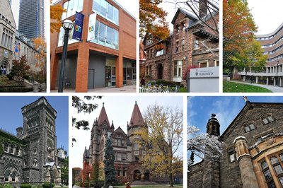 collage of all colleges