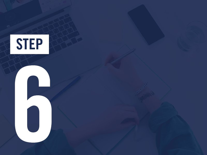 How to Apply Step 6