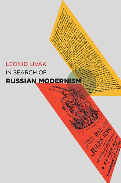 Book cover of Livak's In Search of Russian Modernism