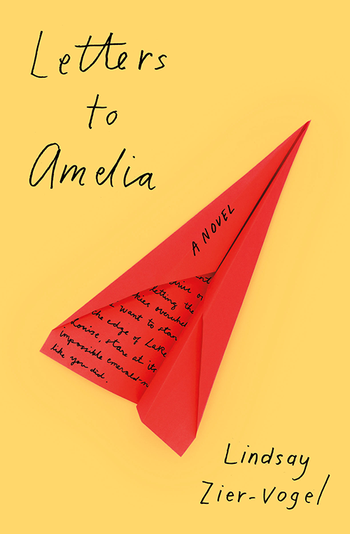 """The cover, """"Letters to Amelia."""""""