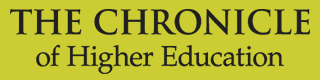 Chronicles of Higher Education logo.