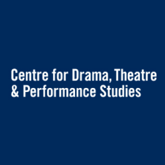 Logo: Centre for Drama, Theatre and Performance Studies.