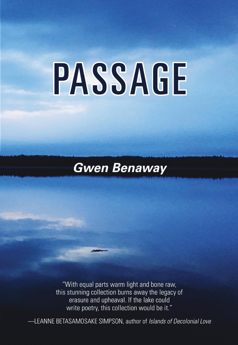 Book cover - Passage by Gwen Benaway
