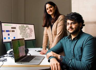 Saara and Ali Punjani are the brother and sister team behind Structura Biotechnology, a U of T startup that uses AI to create 3D visualizations of never-before-seen proteins for pharmaceutical companies.