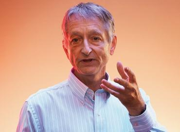 """""""It's very nice that the group of us have been recognized as having a big impact,"""" said Geoffrey Hinton about the A.M. Turing Award. """"It's sort of an acceptance by the computer science community that this stuff isn't crazy."""""""