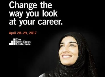 Ad for the Next Steps conference