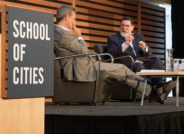 University Professor Richard Florida speaks with Pittsburgh Mayor Bill Peduto about the role of cities in global conversations like climate change and the refugee crisis.