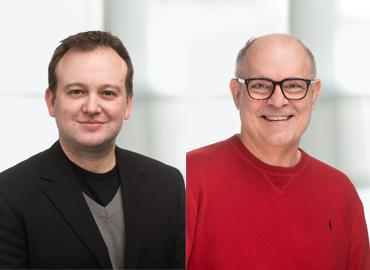 Headshots Dwight Seferos and Douglas Stephan