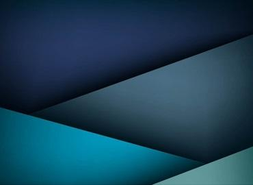 abstract image of blue bands of colour