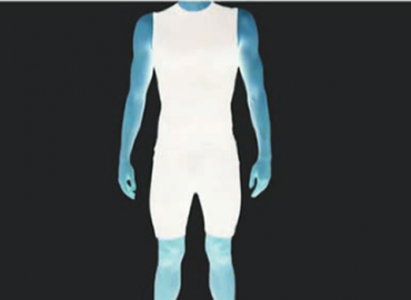 Outline of a male body