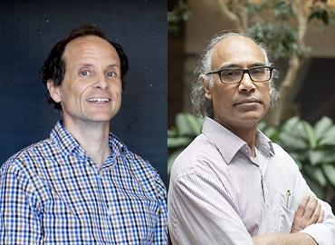 Headshot of Patrick Brown & Kumar Murty