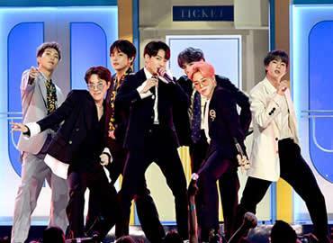 BTS in concert