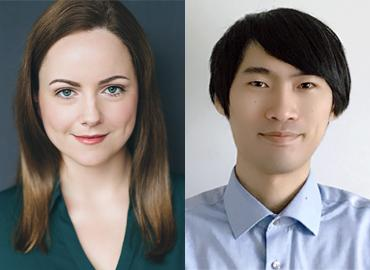 Composite of Kate Conway and Ren Zhu.