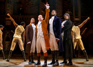 Touring cast of Hamilton: An American Musical