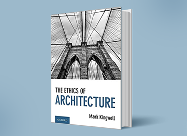 The cover of the book: Ethics of Architecture.