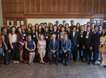 A&S 2018 Pearson Scholars.