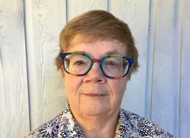 Profile of Joan McCalla.