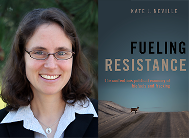 Headshot of Kate Neville and her new book