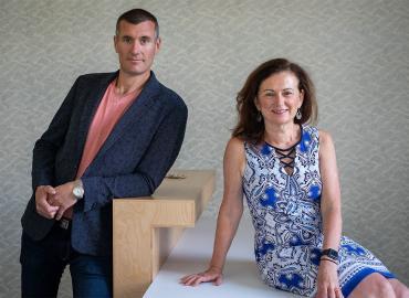 Richard Bazinet and Deborah O'Connor