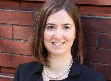 Assistant Professor of Medieval Digital Studies Alexandra Bolintineanu.