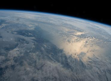 view of earth from above