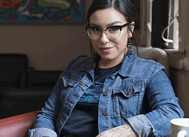 Portrait of Riley Yesno.