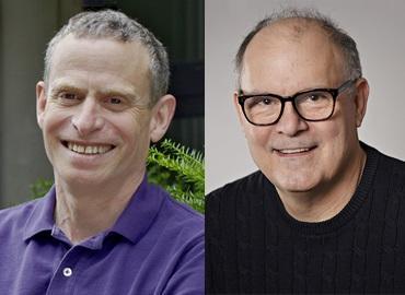 Composite of Douglas Stephan and Arthur Ripstein