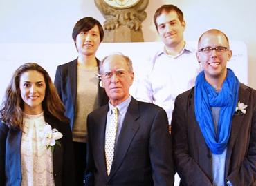 Antonela Arhin, Yanfei Li, Nicholas Morra, David Seitz and Dean David Cameron.