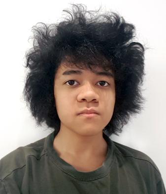 Portrait of Tate Chin.