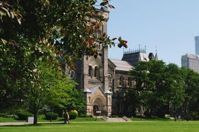 St George campus in summer